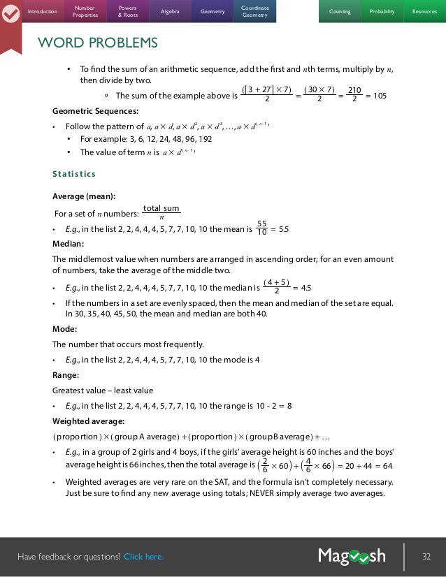 Arithmetic Sequence Worksheets For Middle School arithmetic