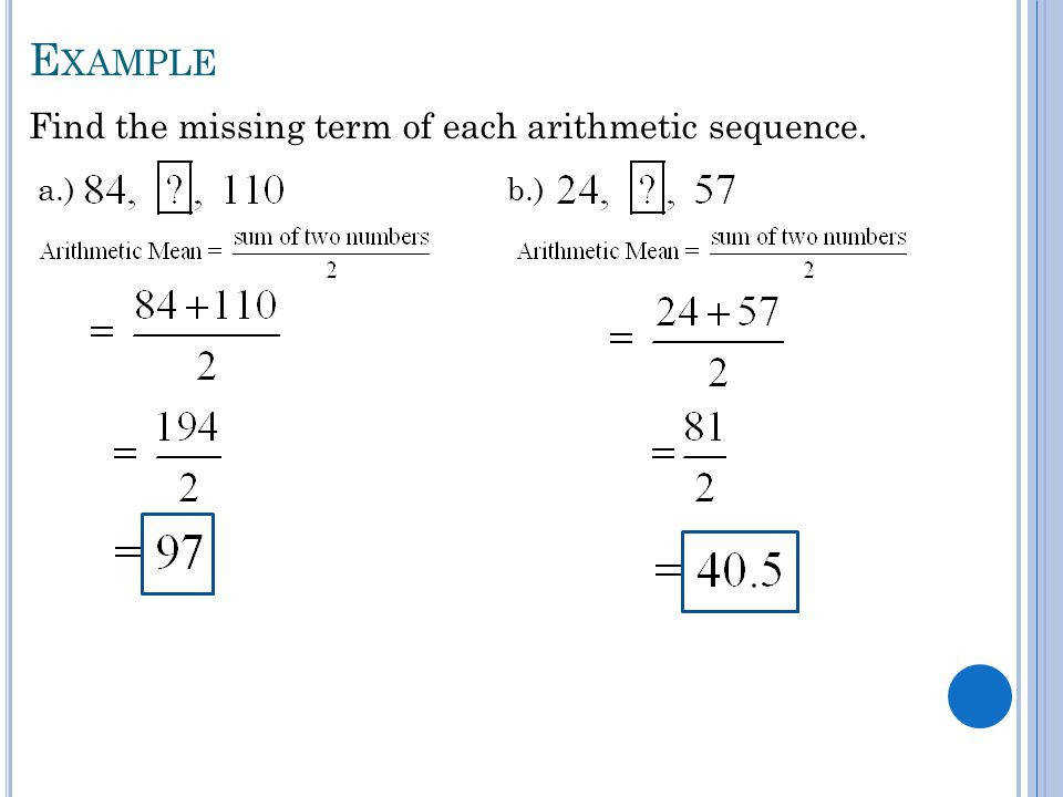 Arithmetic Sequences Worksheet  HomeschooldressageCom