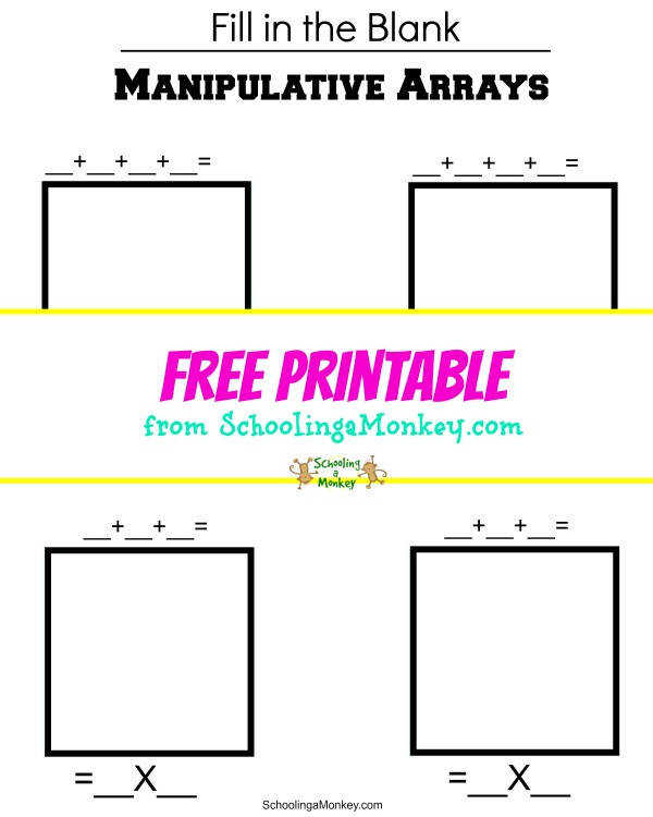 Solidify multiplication facts by using this multiplication arrays printable This worksheet teaches multiplication in a