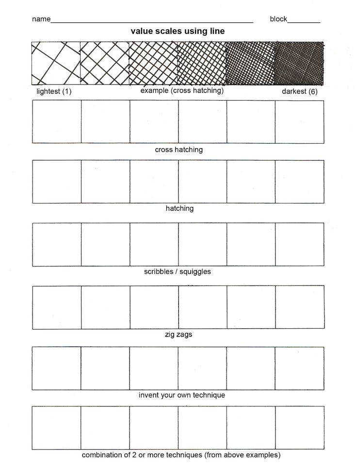 art theory worksheets for kids Google Search