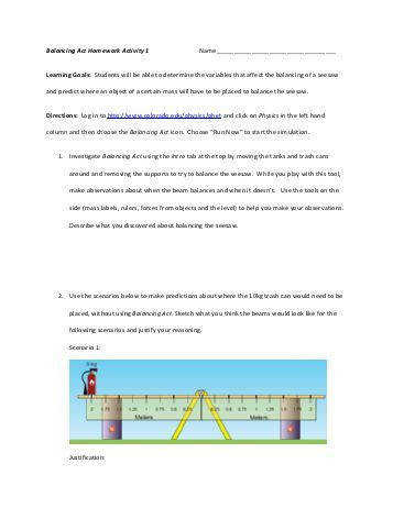 balancing act phet lab answers pdf pogil activity collision theory pdf phet