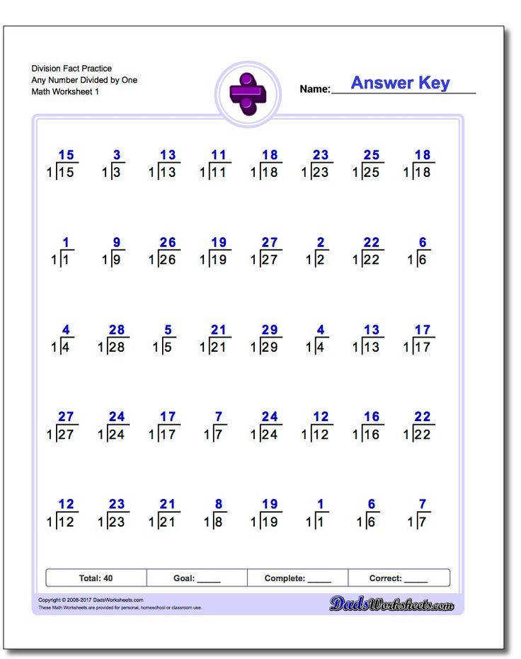 Division worksheets are a great way to memorize division problems These printable math worksheets are great for teacher home school or parents interested