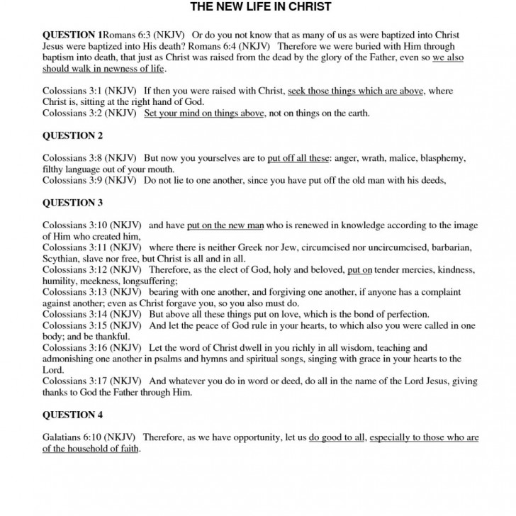Bible Study Worksheets Homeschooldressage