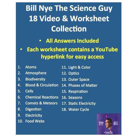 Bill Nye Science Worksheets