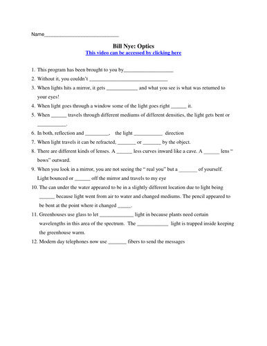 bill nye electricity worksheet. Black Bedroom Furniture Sets. Home Design Ideas