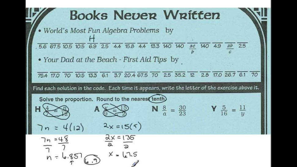 Worksheet Middle School Math With Pizzazz Book A What Did The Boy Snake Say To The Girl Snake What Is Rock N Roll Math Worksheet Answers Answers To Books