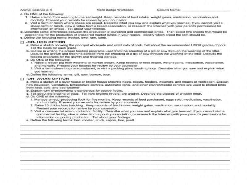 Ideas Collection Boy Scouts Merit Badge Worksheets Also Proposal