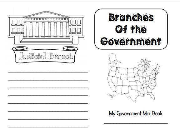 Here s a nice branches of government mini book