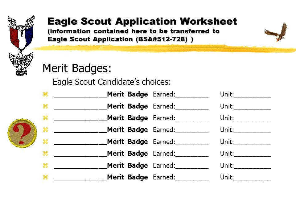 Bsa Merit Badge Worksheets Homeschooldressage Com