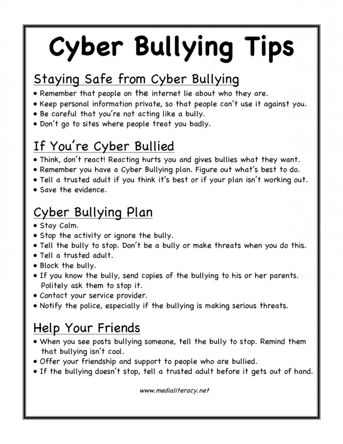Evidence Antibullyingblog From September 5 2011 Lesson Plans Cyber Bullying Worksheets 94ca0187fa7a1924c7c2cc80a52 Lesson Plan