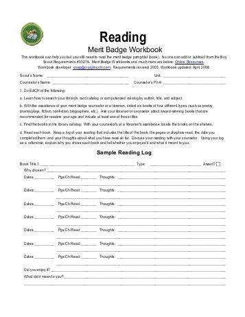 camping merit badge worksheet. Black Bedroom Furniture Sets. Home Design Ideas