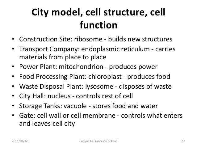Answer key CELL CITY INTRODUCTION Floating around in the