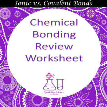 Chemical Bonding Review Worksheet Chemical Bonding Review Worksheet