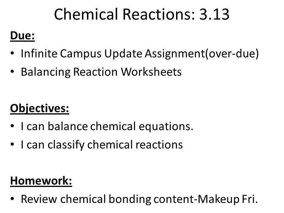 24 Chemical Reactions