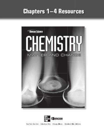 Chemistry Worksheet Matter 1 Answers Templates and Worksheets