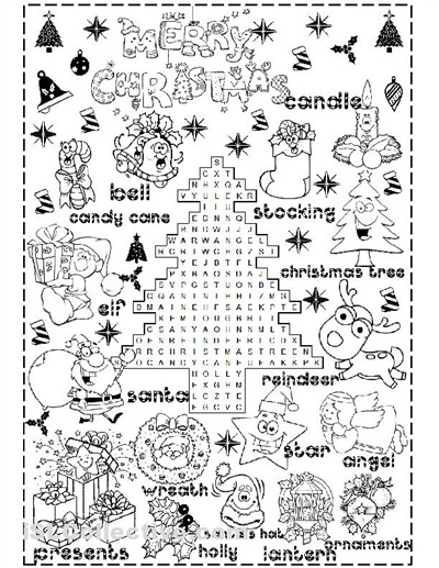 merry christmas worksheet Free ESL printable worksheets made by teachers