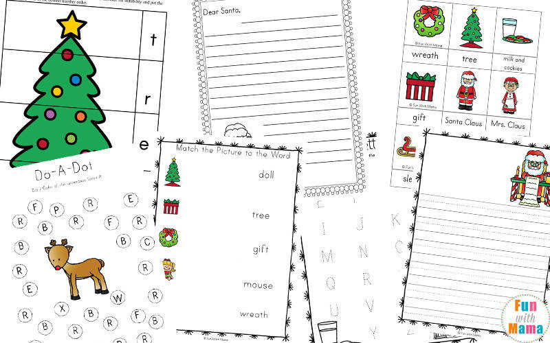 Christmas worksheets pdf
