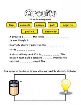 Circuits Missing Words