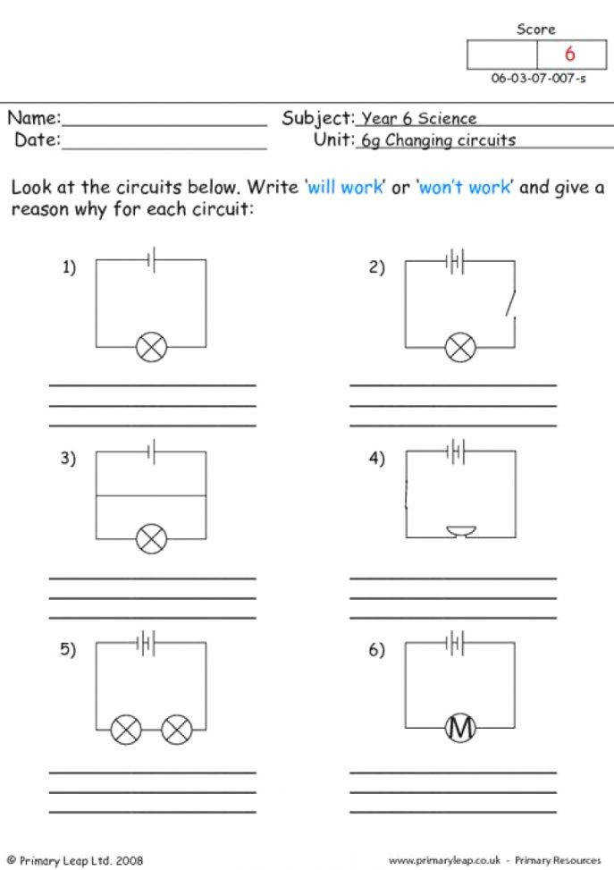 Charming Circuit Diagrams Worksheet Ireleast Circuits Physics Ireleast