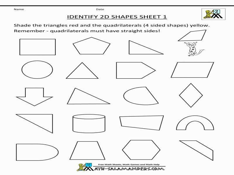 classifying quadrilaterals worksheet. Black Bedroom Furniture Sets. Home Design Ideas