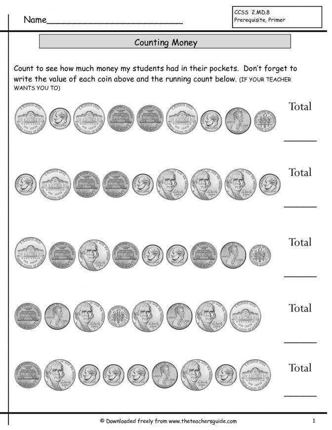 Counting Coins Worksheets From The Teachers Guide Adding Money Lesson Plans Year 3 Countingcoinshowmuchmoneynoquartersmixe Counting Money