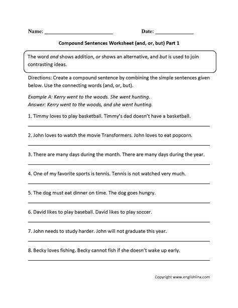 Circling pound Sentences Worksheet Part 2 School ideas Pinterest