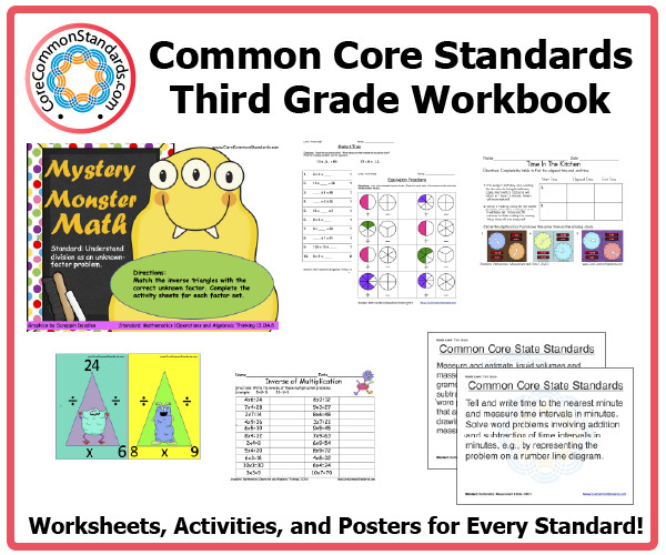 Third Grade mon Core Activities