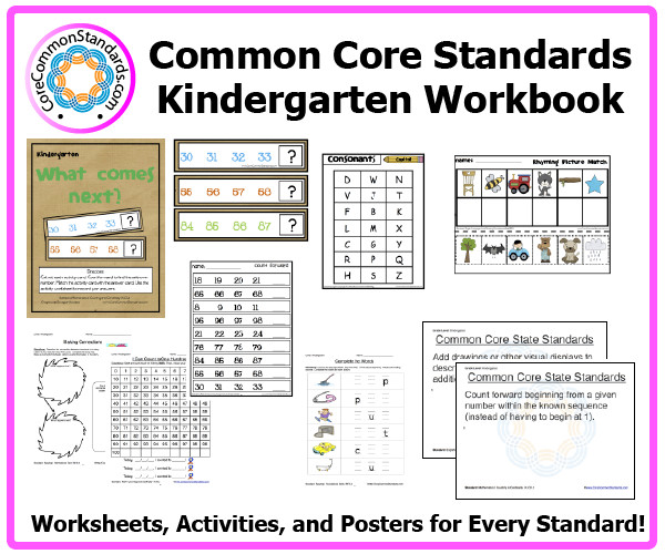 Kindergarten mon Core Activities