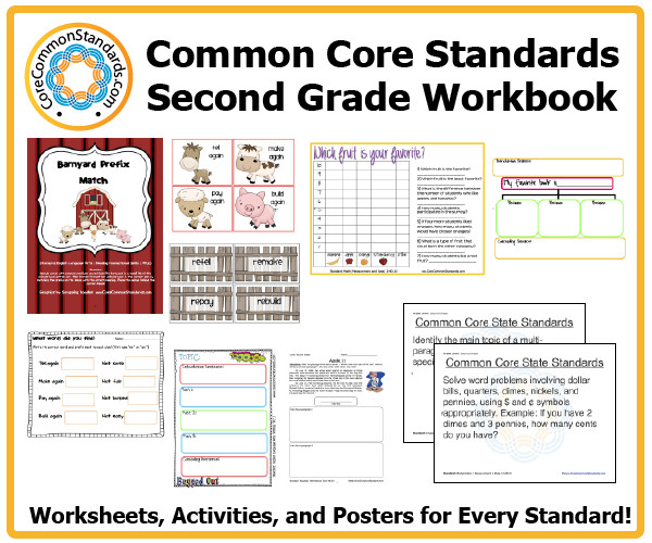 Worksheet Ccss Math Worksheets 2nd Grade Math mon