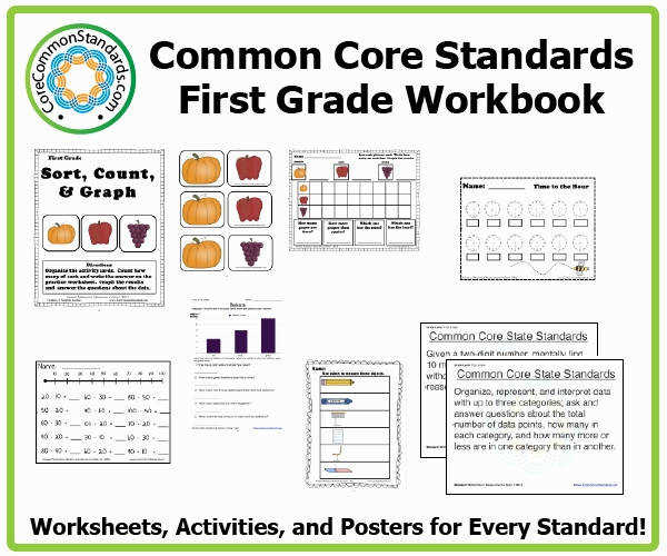 mon Core Worksheets Inspirational First Grade Mon Core Workbook Download