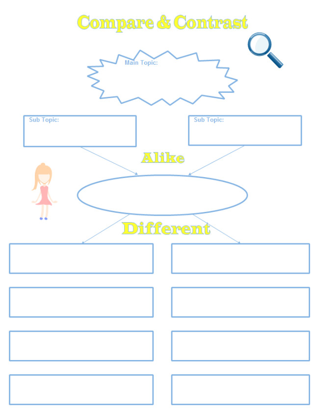 pare Contrast Worksheet