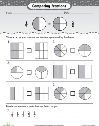 Fraction Fundamentals paring Fractions