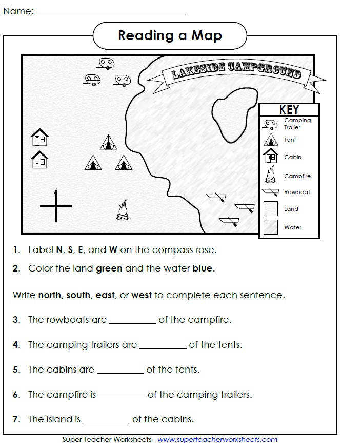 Lakeside Campground Map