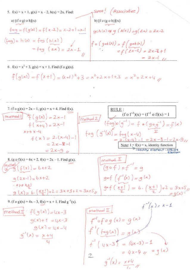 posite function worksheet page 2