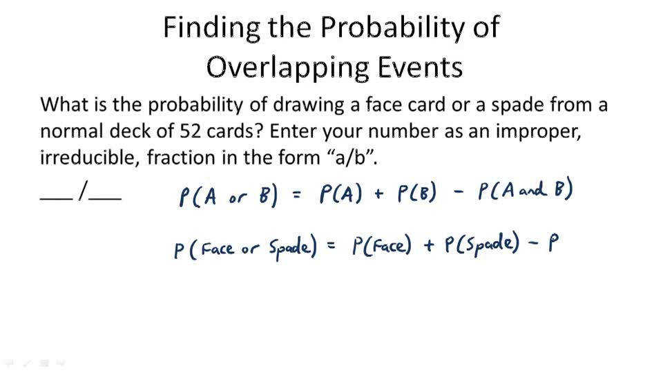 Probability of pound Events Video Probability