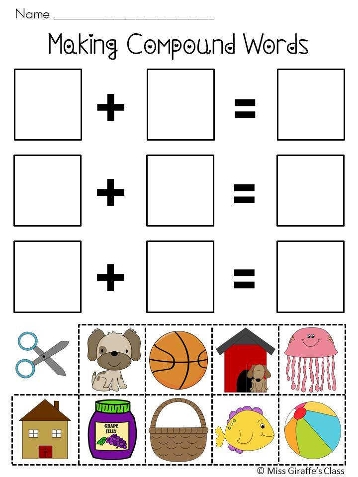 pound Words Worksheets and Activities Mega Pack