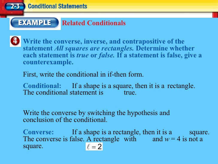 Related Conditionals 20