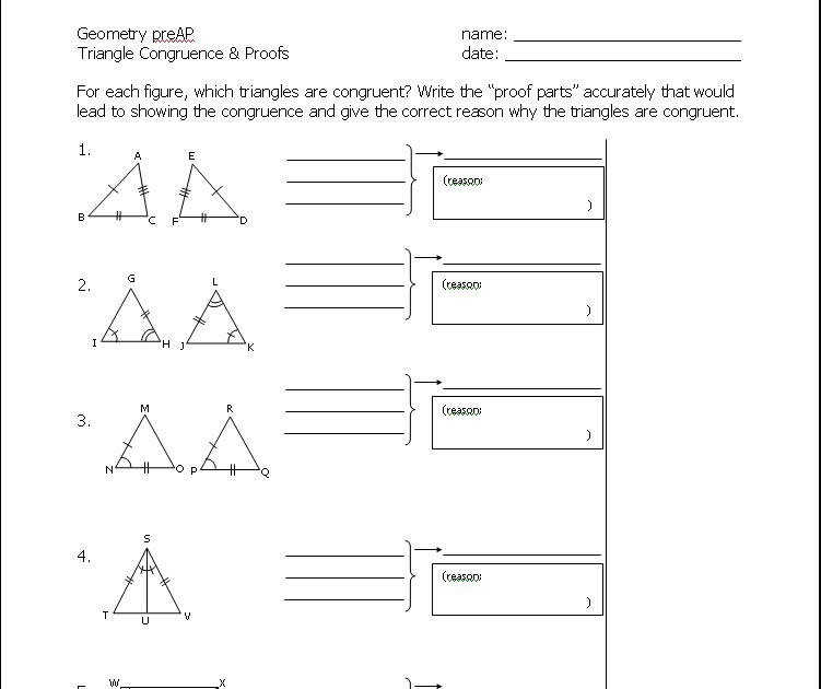 using congruent triangles cpctc worksheet answers breadandhearth. Black Bedroom Furniture Sets. Home Design Ideas