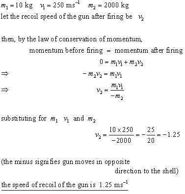 conservation of momentum problem 2