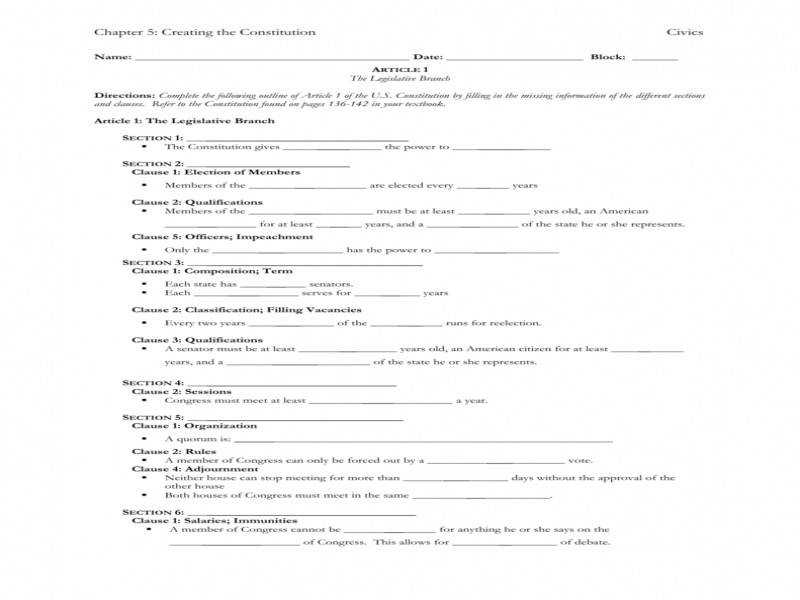 Download by size Handphone Tablet Desktop Original Size Back To The Constitution Worksheet Answers