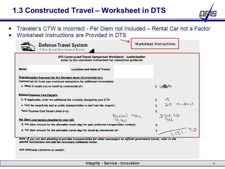 1 3 Constructed Travel – Worksheet in DTS