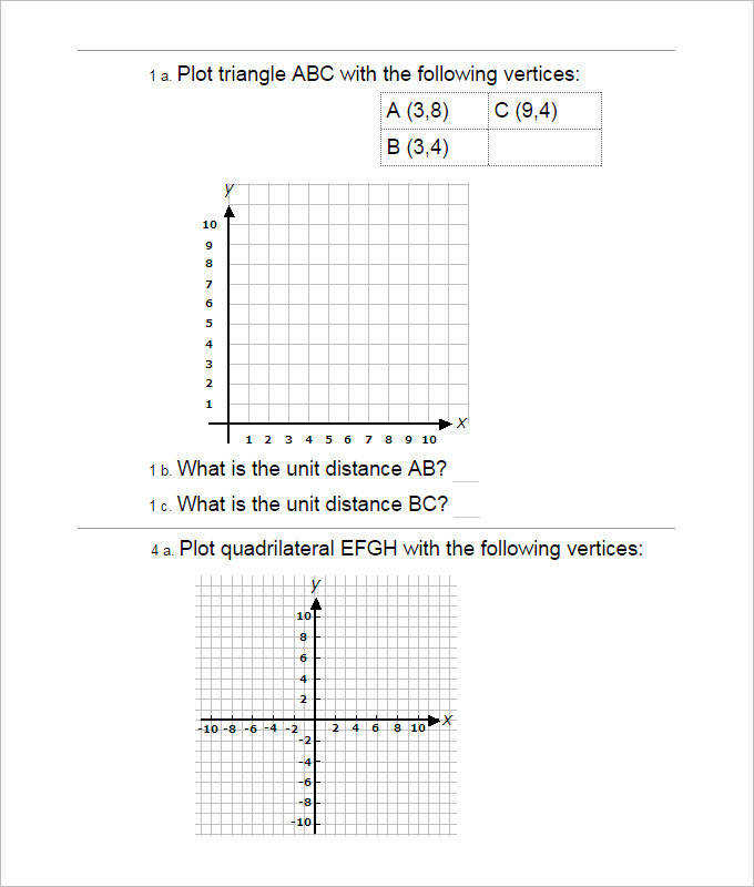 Collection of Solutions Coordinate Geometry Worksheets Year 10 In Free
