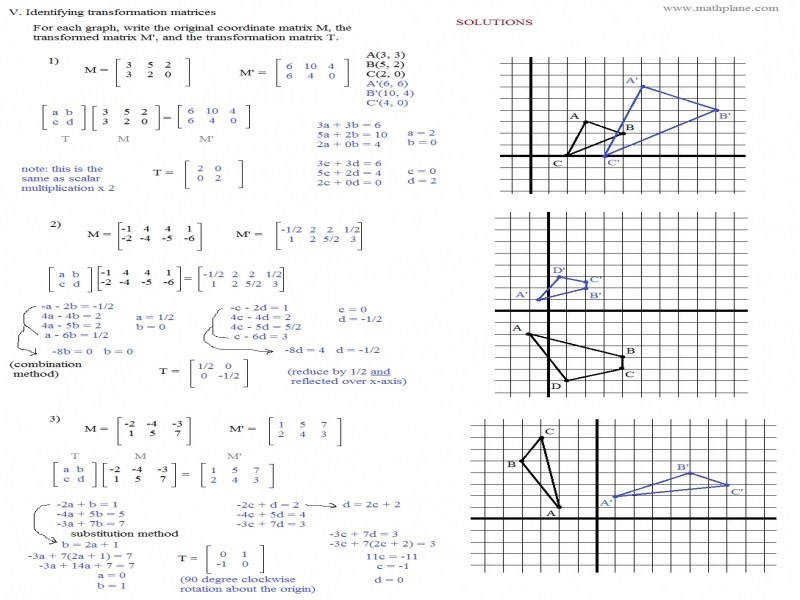 Awesome Collection Coordinate Geometry Worksheets For Your