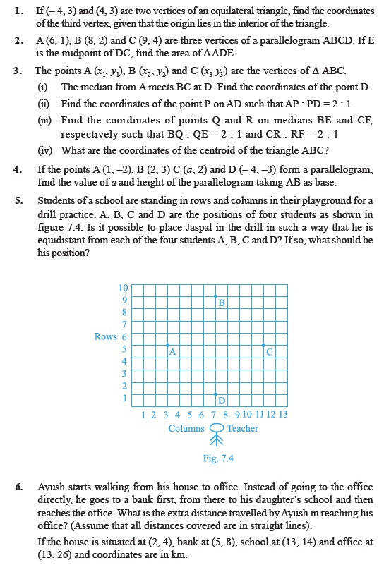 Ideas of Coordinate Geometry Worksheets Year 10 For Free Download