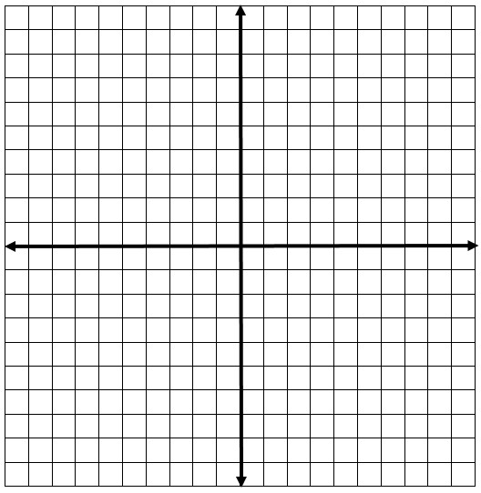 Printable Handout Coordinate plane worksheet