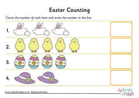 easter counting 1 460 2