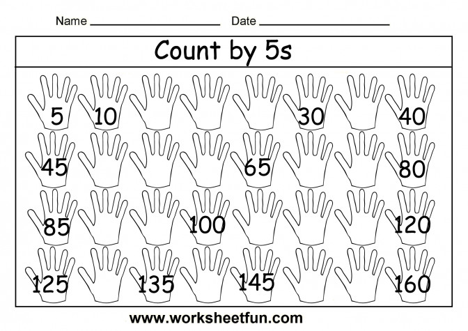 Worksheet Counting By 5 Chart Wosenly Free Printable Worksheets For Kindergarten Fafb8f5f4a02c f8801bbb Free Printable Counting Worksheets