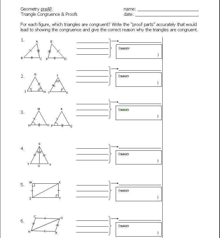 Cpctc Worksheet