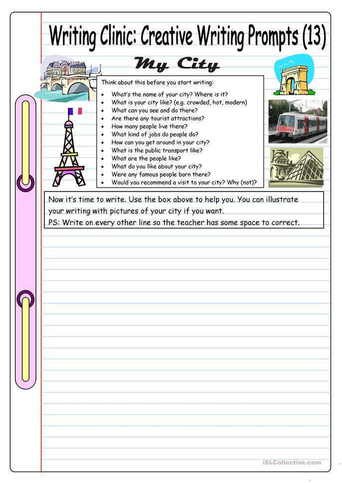 creative writing prompts super teacher worksheets