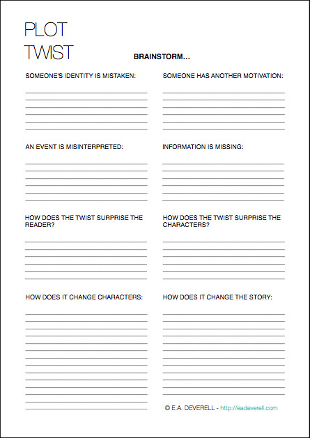Creative writing worksheet Creative writing worksheet
